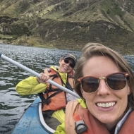 Betsy and Alex in kayak 1